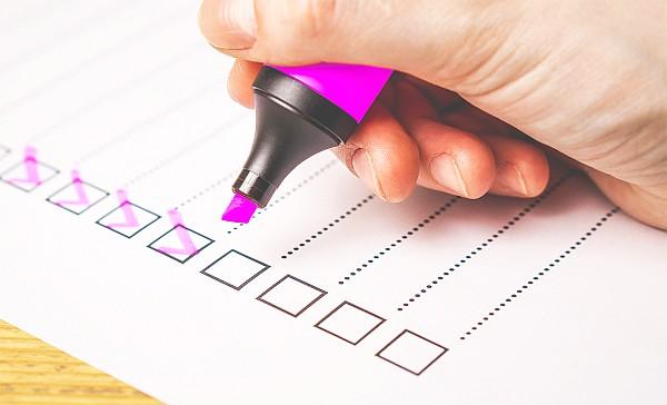 Checkliste Webseite